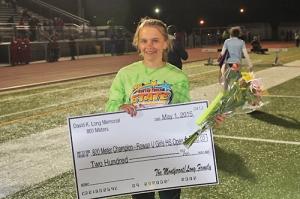 800m Champ Kayla Martin